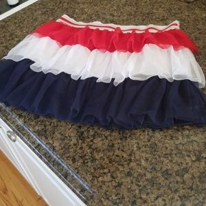 Other - Red white and blue children's skirt